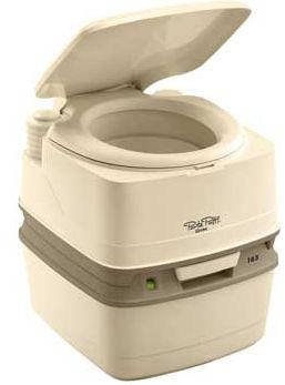 Биотуалет 21л Thetford Porta Potti Qube 165  Luxe, туалет портативный на кемпинг, фото 2