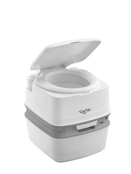Биотуалет 21л Thetford Porta Potti Qube 165, туалет портативный на кемпинг
