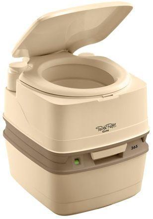 Биотуалет 21л Thetford Porta Potti Qube 365 Luxe, туалет портативный на кемпинг