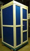 Биотуалет кабина утепленная с обогревом, туалет автономный с баком 250 литров