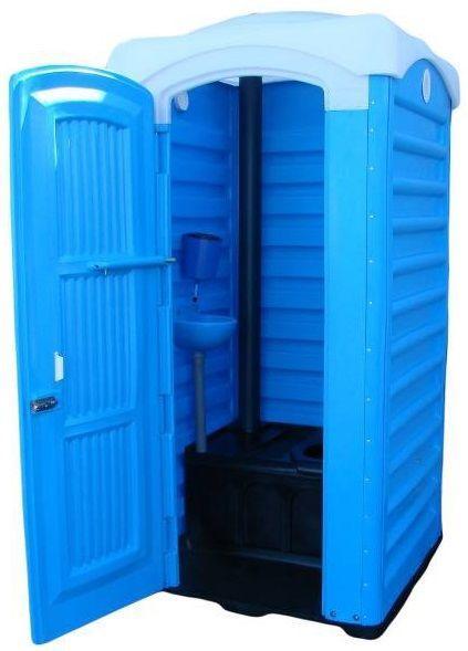 Биотуалет с баком 250 литров туалет уличный, кабина автономная, мобильная
