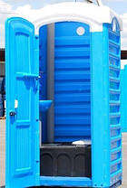 Биотуалет с баком 250 литров туалет уличный, кабина автономная, мобильная, фото 2