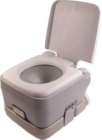 Биотуалет, туалет на кемпинг портативный 10 л с сильфонной помпой PT10 PortaFlush