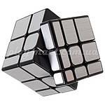 Зеркальный кубик Рубика 3х3 MoYu MF Mirror Silver, фото 3