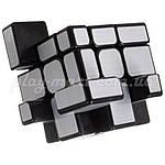 Зеркальный кубик Рубика 3х3 MoYu MF Mirror Silver, фото 4