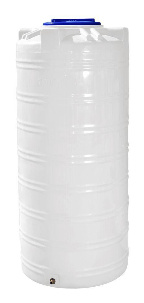 Бочка, бак, емкость 750 литров узкая пищевая вертикальная 700 800 RVО