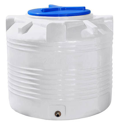 Вертикальная емкость 200 литров бочка пищевая, бак RVО, фото 2
