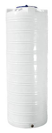 Емкость 1000 литров бак, бочка пищевая узкая вертикальная RVО У, фото 2