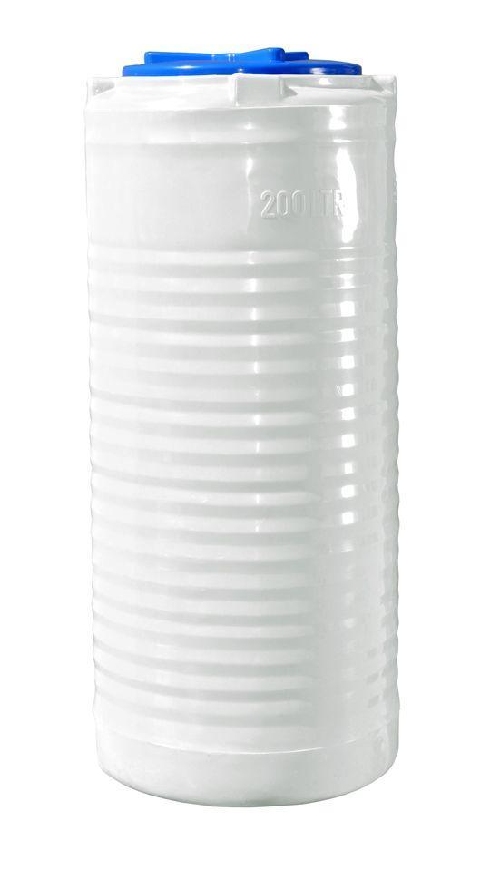 Вертикальная узкая емкость 200 литров бочка пищевая, бак RVО У