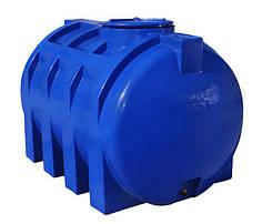 Емкость, бак, бочка 2000 литров пищевая двухслойная горизонтальная 2 куба, тонн RGД