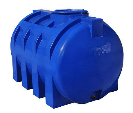 Емкость, бак, бочка 2000 литров пищевая двухслойная горизонтальная 2 куба, тонн RGД, фото 2