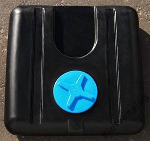 Душ летний: бочка, бак для душа 100 литров, лейка с шаровым краном, емкость душевая, фото 2