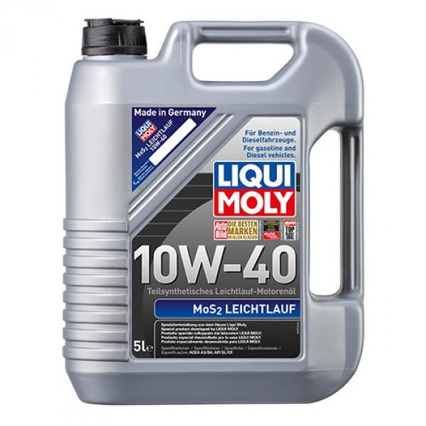 Полусинтетическое моторное масло - MoS2 Leichtlauf SAE 10W-40 5 л.