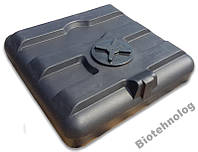 Душевая емкость 160 литров, бочка, бак для душа летнего дачного 150 200