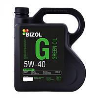 Синтетическое моторное масло -  BIZOL Green Oil 5W-40 4л