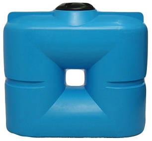 Емкость, бак, бочка 1000 литров слимс пищевая вертикальная транспортабельная, отстойник B, фото 2