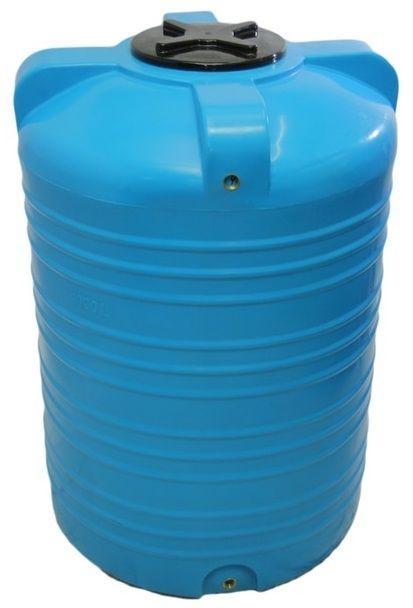 Емкость бак, бочка 1000 литров пищевая вертикальная V