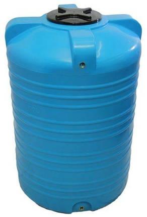Емкость бак, бочка 1000 литров пищевая вертикальная V, фото 2
