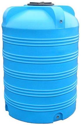 Емкость вертикальная 1500 литров бак, бочка пищевая V, фото 2