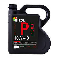 Полусинтетическое моторное масло -  BIZOL Protect 10W40 4л