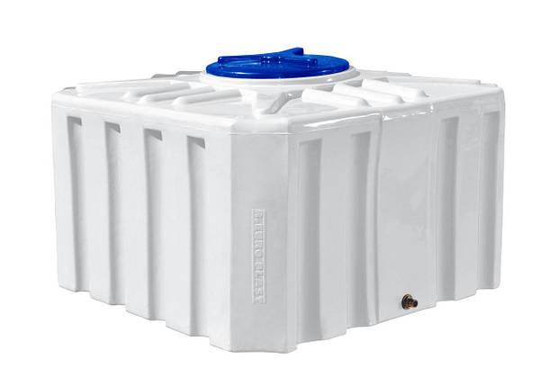 Квадратная емкость 500 литров бак, бочка пищевая RKО Куб, фото 2