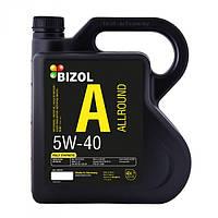 Синтетическое моторное масло -  BIZOL Allround 5W-40 4л