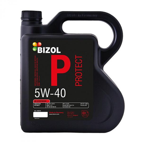 Синтетическое моторное масло -  BIZOL Protect 5W-40 4л