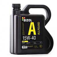 Минеральное моторное масло -  BIZOL Allround 15W40 4л