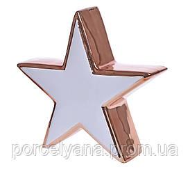 Керамическая фигурка звезда 85мм
