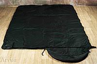 Тактический спальный мешок (до -5) спальник+компресионник