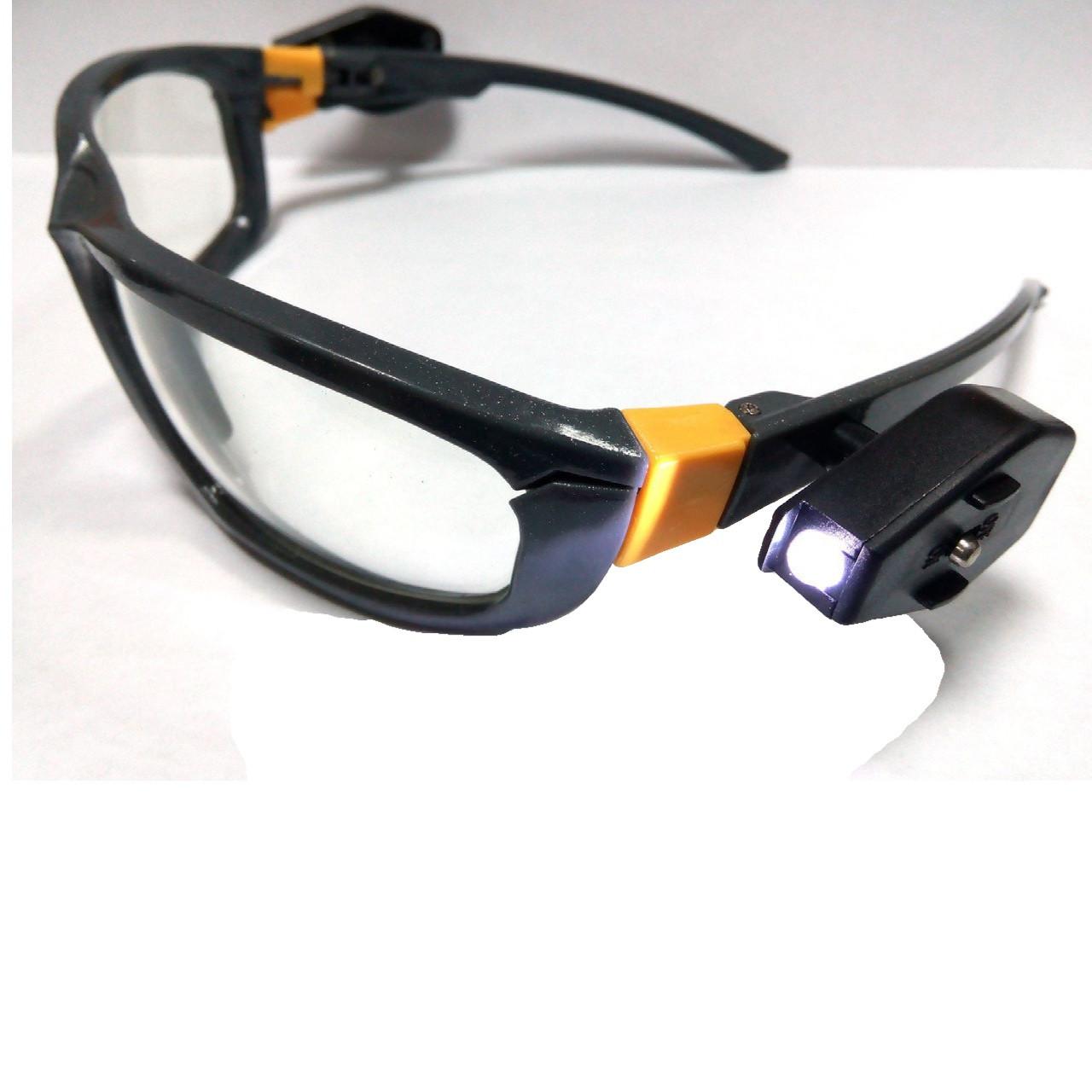 Окуляри захисні з ліхтариками