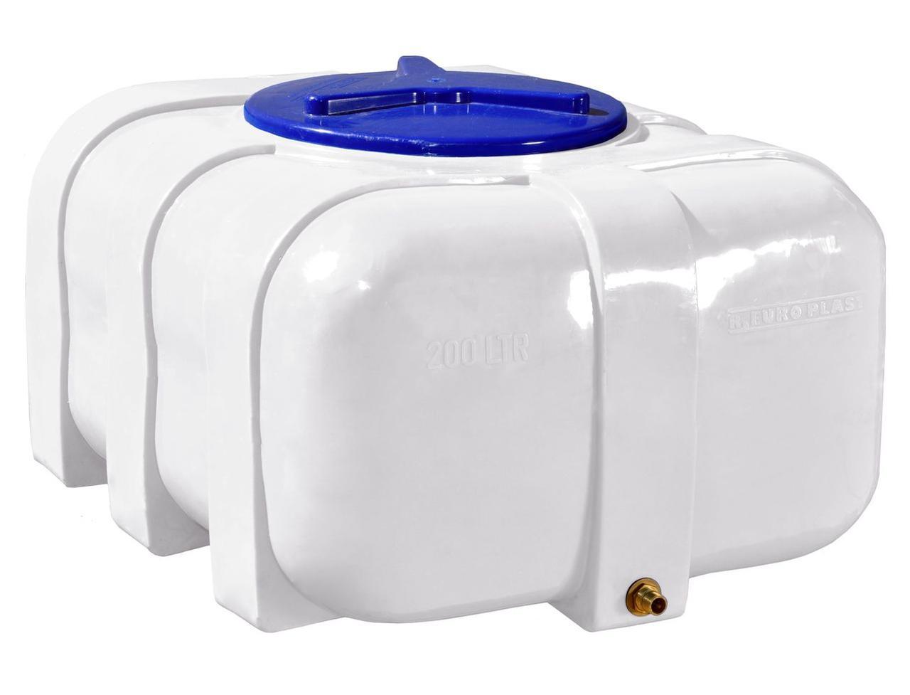 Бак, бочка, емкость 200 литров пищевая овальная RKО