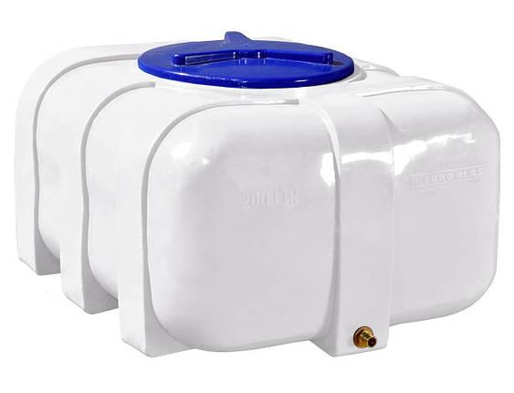 Бак, бочка, емкость 200 литров пищевая овальная RKО, фото 2