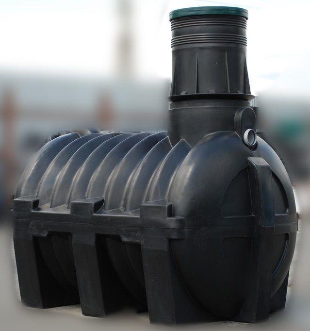 Септик, отстойник 3000 литров для автономной частной канализации GG