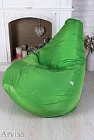 "Кресло мешок груша ""Президент"" зеленое"