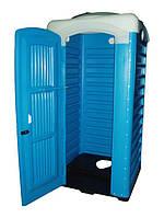 Туалет с чашей генуя для выгребной ямы, биотуалет на дачу, дачный, для дачи, кабина дачная