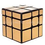 Зеркальный кубик Рубика 3х3 MoYu Mirror Gold, фото 2
