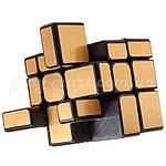 Зеркальный кубик Рубика 3х3 MoYu Mirror Gold, фото 3