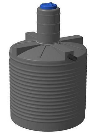 Яма выгребная 3000 литров глянц, септик, канализация автономная, сливная, туалетная, сточная, помойная, фото 2