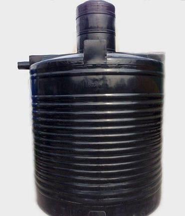 Яма выгребная 5000 литров глянц, септик, канализация автономная, сливная, туалетная, сточная, помойная, фото 2