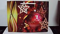 Пакет подарочный Новогодний  размер 33*25*12