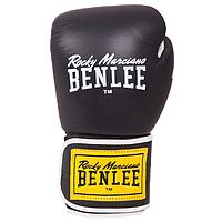 Перчатки боксерские TOUGH черные