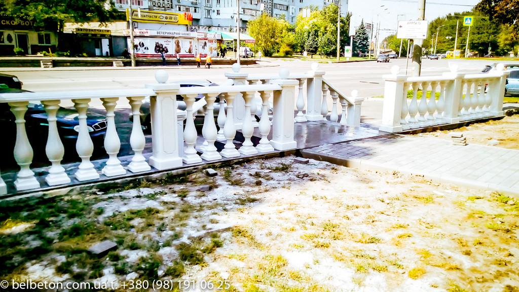 Балясины Днепр | Балюстрада бетонная в Днепре и Днепропетровской области 6