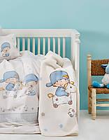 Комплект постельного белья для новорожденных Karaca Home Funny Bears