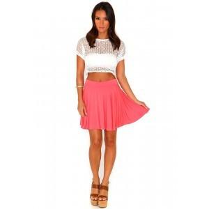 Новая коралловая юбка Missguided