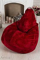 Кресло груша мешок велюр флок 120х75