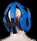 Шлем каратэ, синий, 1727-bl, фото 2