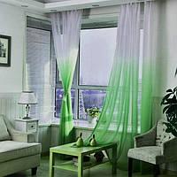 Шифон Растяжка Зелёный