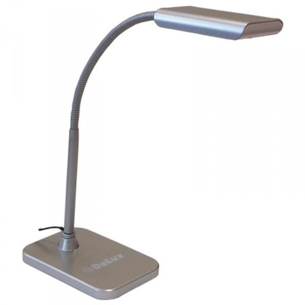 Настольная лампа DELUX TF-230 3.5 Вт LED Серебро