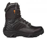 Ботинки армейские DELTA Army Classic 9 inch Black, берцы черные